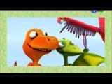 Поезд динозавров 19 Динозавр по имени Король. Следы динозавров.